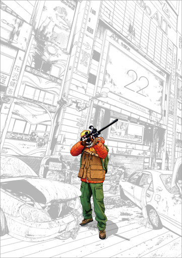 丧尸题材漫画《请叫我英雄》今迎最终话,最后一卷单行本下月发行-ANICOGA