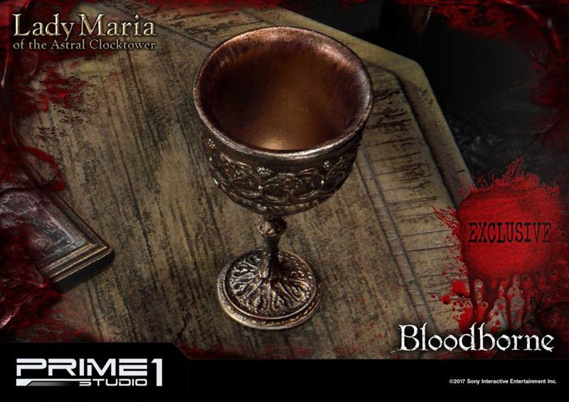 《血源》钟楼的玛利亚手办开订,全球限量850套!!