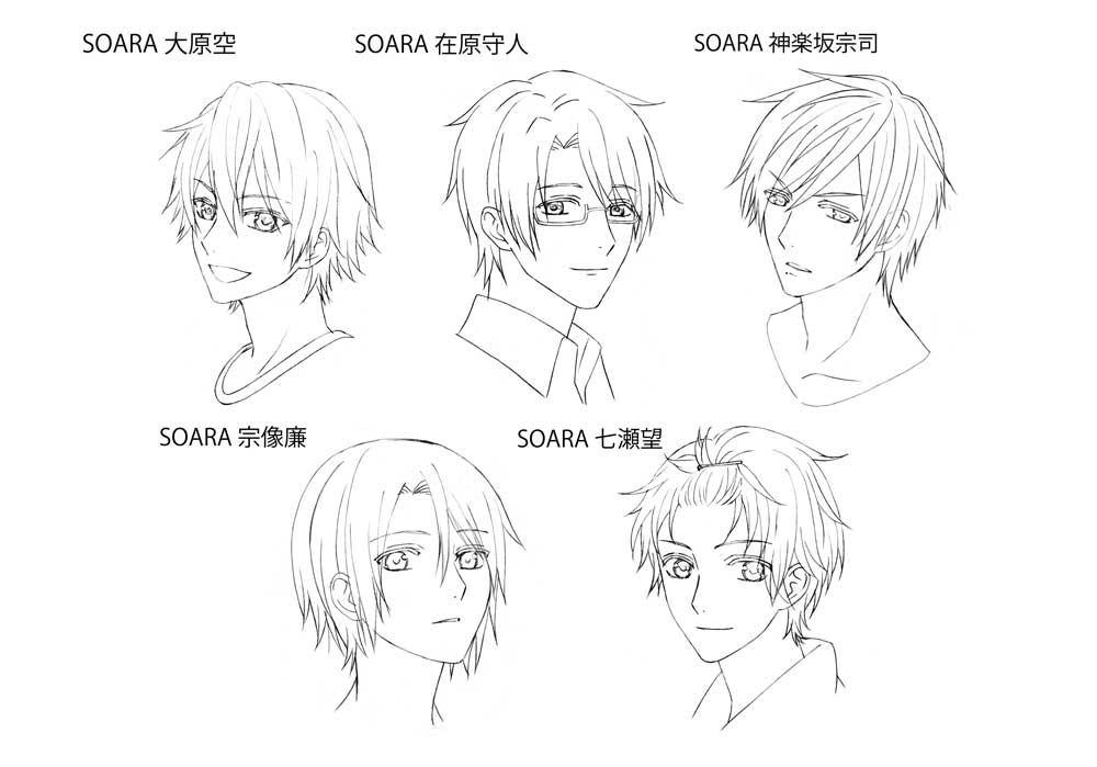 《TSUKIPRO THE ANIMATION》宣传印象影片及角色设定公开!16个小哥哥把歌唱~-ANICOGA