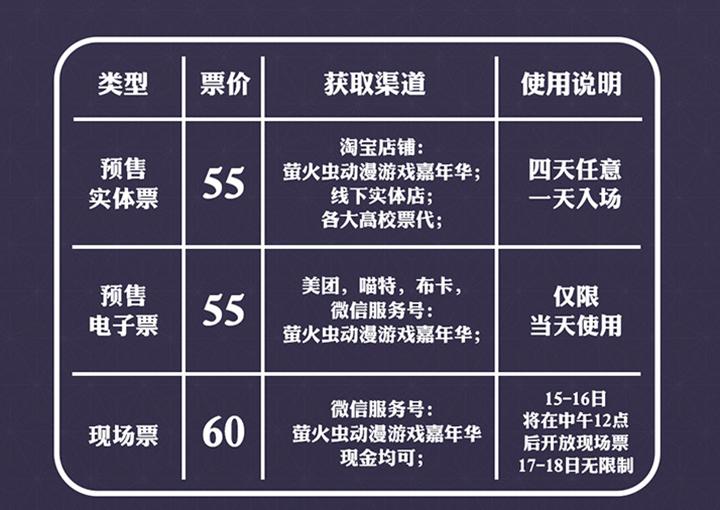 【广州】萤火虫夏日祭三大主题馆情报解禁!活动时间表全公开!-ANICOGA