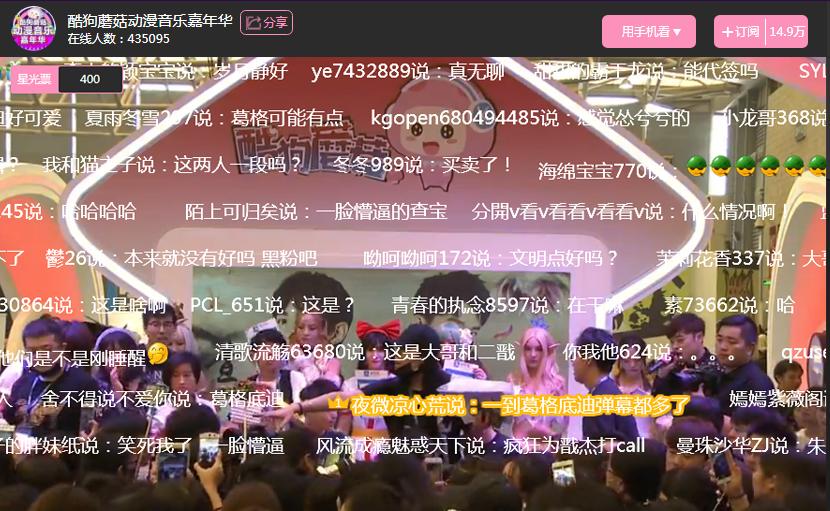 酷狗蘑菇国庆漫展首日引爆魔都现场 业内 第6张