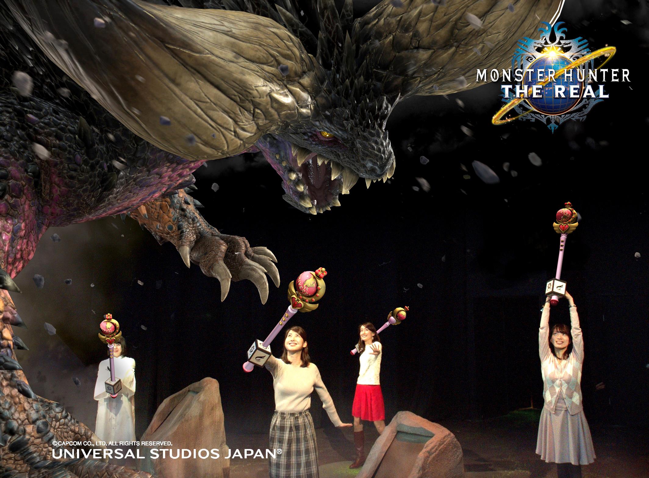 代表月亮去打猎??日本环球影城《怪物猎人》项目将与《美少女战士》展开合作!-ANICOGA