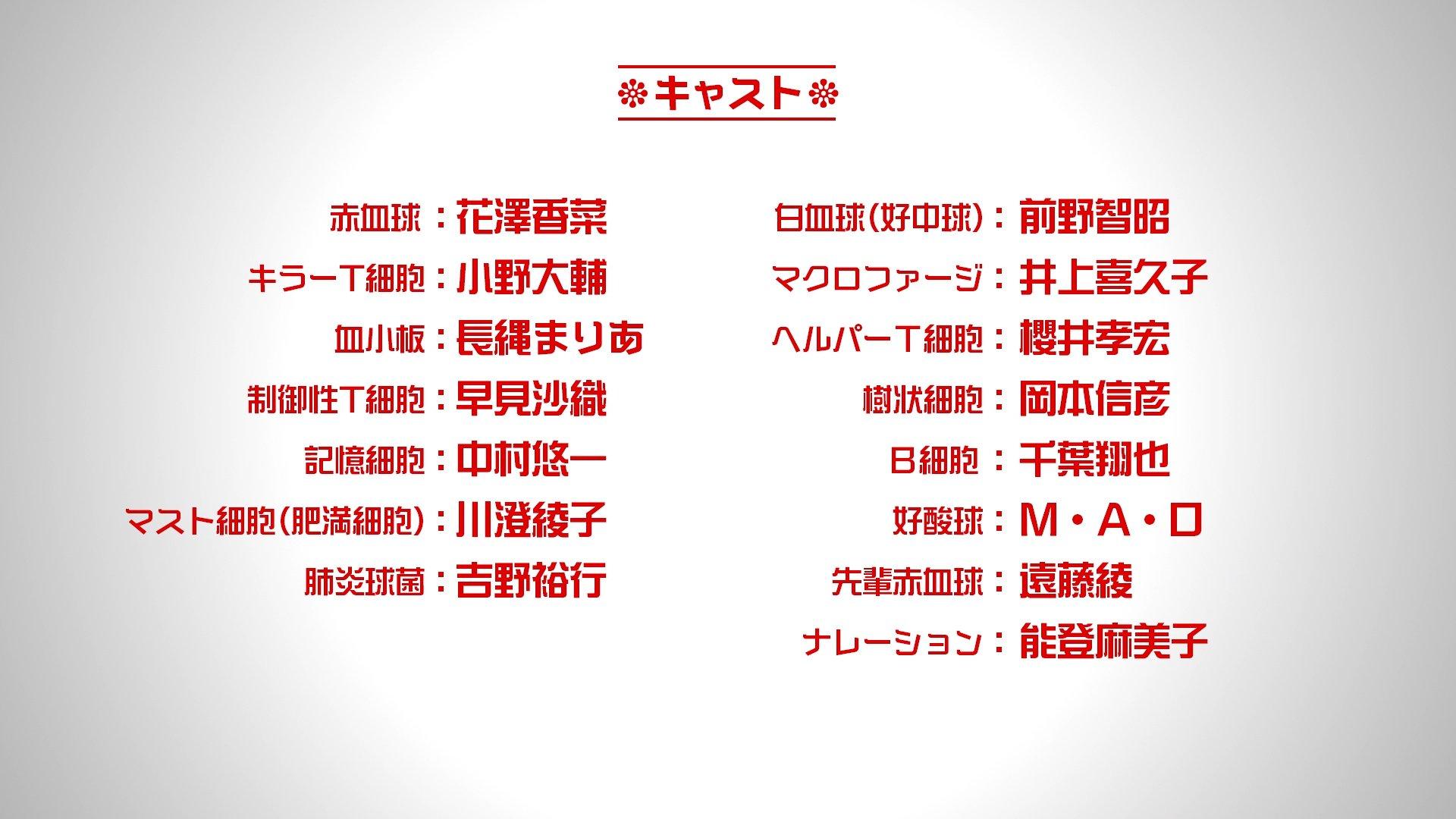 漫改新番动画《工作细胞》七月播出,第二弹PV公开-ANICOGA