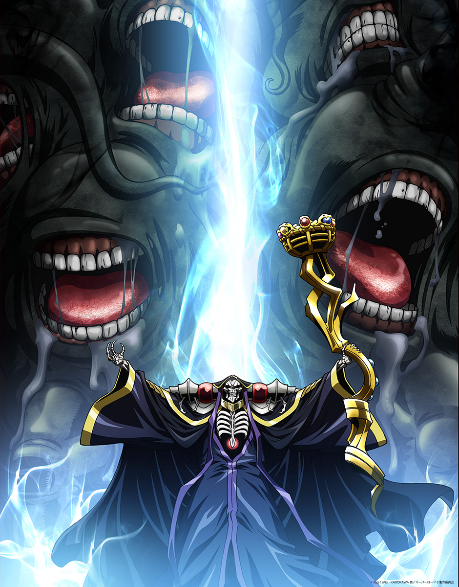 《Overlord》第三季公布最新视觉图,下月放送!-ANICOGA