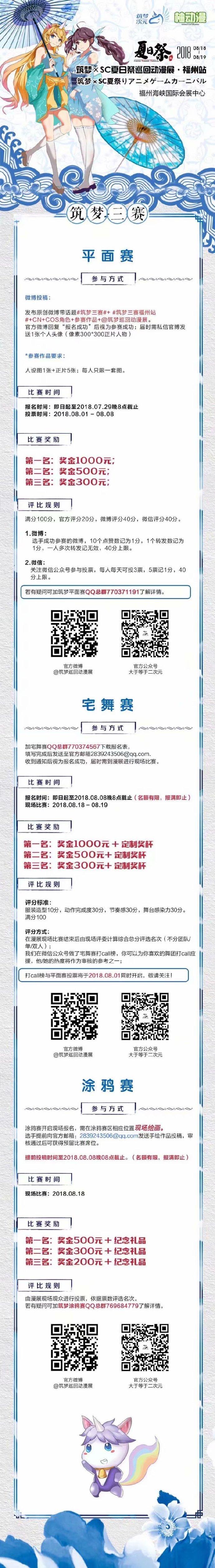 【合肥】筑梦全国巡回动漫展暨SC福州夏日祭国风舞大赛开启-ANICOGA