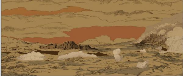 致敬宫崎骏! 《风之谷》漫画的史诗场面被国人使用电脑技术重现!-ANICOGA